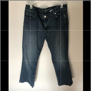 Michael Kors denim jeans 12 bell bottom
